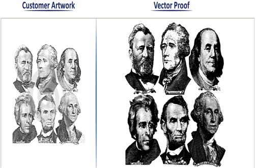 Vector portfolio